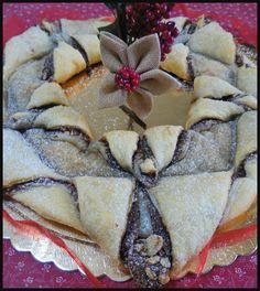 Stella di Natale pasta sfoglia e nutella, una golosità unica !   #stellanatale #pastasfoglia #natale #natale2017 #nutella #dolciitaliani #ricettegustose