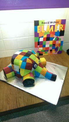 Elmer cake! :-D xx