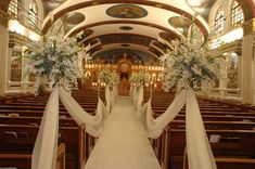 Church Wedding Decoration Add Blessedness To Your