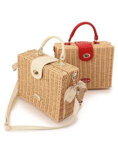 Elegant bag models for women Designer Handbag Brands, Wooden Bag, Wicker Purse, Bags Online Shopping, Mode Shop, Basket Bag, Leather Bags Handmade, Vintage Purses, Jute