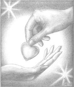 Рисунки карандашом-любовь.. Обсуждение на LiveInternet - Российский Сервис Онлайн-Дневников