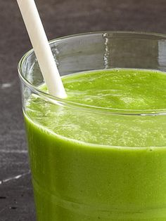 All Green Smoothie Recipe (sub spinach for other green)