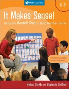 Math Coach's Corner: It Makes Sense! Using the Hundreds Chart to Build Number Sense. There are books that provide great classroom activities, and there are books that help teachers build their own mathematical understanding.  And then there are those that do both.  The books in the It Makes Sense series fall into the latter category. The authors have come up with a winning format that provides teachers everything they need to fully utilize must-have mathematical tools in the classroom.