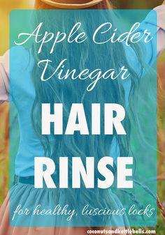 make our own hair rinse