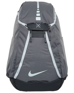 Nike Hoops Elite Max Air Team Basketball Backpack Charcoal Dark Grey White  - Designed for to be lightweight 1a92452a5ec1a
