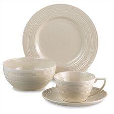 Casual Cream Dinnerware Set