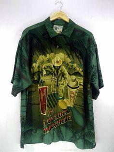 8db5a81ec128 Hawaiian Shirt. Big Dog ShirtsBeach DrinksHawaii SurfVintage HawaiiUsed  ClothingAbstract ...