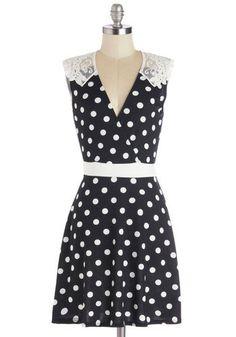checkerboard's save of Everlasting Loveliness Dress | Mod Retro Vintage Dresses | ModCloth.com on Wanelo