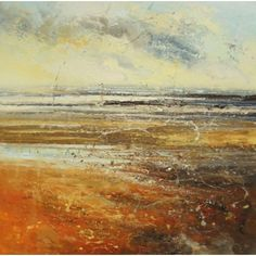"""""""Sea trails II"""" by Claire Wiltsher - oil on canvas"""