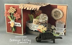 CASEing the Catty – Artistic Expression – CTC 137 (addinktive designs) Fancy Fold Cards, Folded Cards, Carols Of Christmas Stamp Set, Slider Cards, Step Cards, Cards Diy, Interactive Cards, Stampin Up Catalog, Wood Crates