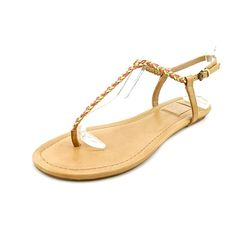 8e3905f7a16c Ella Moss Leanna Womens Sandals Flip Flops Tan Size 85    To view further  for this item