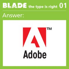 Answer to The Type is Right Game 1