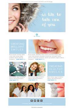 Templates Emailing Dentist Smile Sarbacane