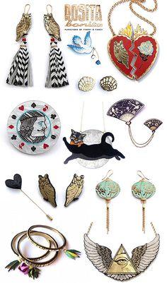 Gorgeous Owl Jewelry by Rosita Bonita