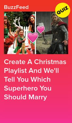 Create A Christmas Playlist And We'll Tell You Which Superhero You Should Marry Interesting Quizzes, Christmas Playlist, Fun Quizzes, Cozy Christmas, Funny Posts, Buzzfeed, Trivia, Acting, Told You So