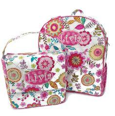 Personalized Floral Toddler Backpack - Pink Flowers Backpack - Preschool  Backpack - Toddler Diaper Bag - Girl Backpack Embroidery - Book Bag 1294093c65e22