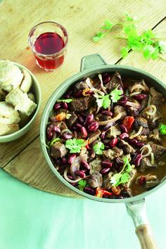 Jan Linders - Chili con carne met in rode wijn gestoofd rundvlees