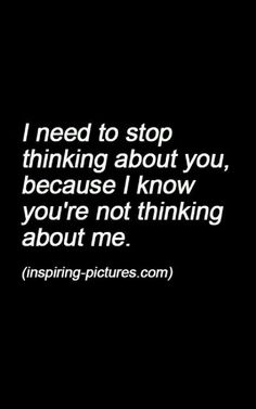 I'll still think of you anyway....