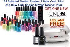 CND LED Lamp Light 3C Technology & Shellac Rainbow Kit -Base/Xpress Top 24 Color