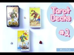 Hi Friends~ I'd like to share with you my first impressions of some decks I received from my first Amazon order: Universal Waite Tarot, Tarot Of The New Vision & Golden Universal Tarot.