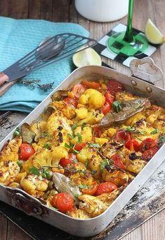 Chou-fleur rôti au four, original avec un petit goût de tajine ! TESTÉ ET APPROUVÉ