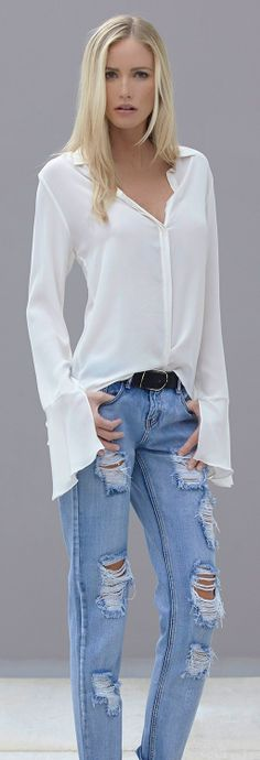 Simplicity #casual #jeans