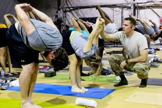 First Yoga Fest held at Bagram Airfield, Schweppe 'built a community of yogis' | Article | The United States Army