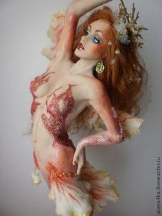 Handmade.clay mermaid