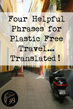 This is the last post in my plastic-free travel series, which is aimed at helping you green up your travels, with as little effort as possible on your part. I'll also be posting tips on