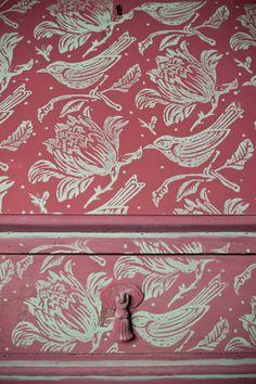 Rodillo de pintura con dibujos de rebaño por patternedpaintroller