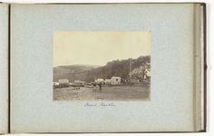 Henry Pauw van Wieldrecht | Gezicht op het strand van Shanklin met badgasten op  Isle of Wight, Henry Pauw van Wieldrecht, 1889 |