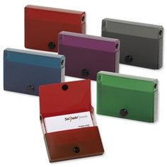 I like the color of these boxes and how you can chose the color you want. I also like the simple shape.