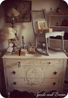 Beautifully refinished antique dresser-at Spade and Broom https://www.facebook.com/spadeandbroom?ref=stream&hc_location=timeline