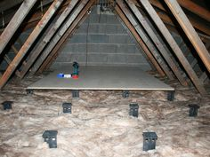 The Loft Leg is a unique design protected solution to avoid insulation compression when using your loft for storage. Government guidelines recommend that we insulate with 270mm of quilt insulation to achieve a U value of 0.16 (www.energysavingt
