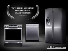 The Chef Collection celebrates our collaboration with world-class chefs who offered ideas, inspiration, and no reservations.