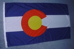COLORADO OFFICIAL STATE FLAG by Sportsworld. $4.85. Flag for inside or out. 3x5 ft.