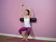 Standing Pilates Repertoire With The Foam Roller