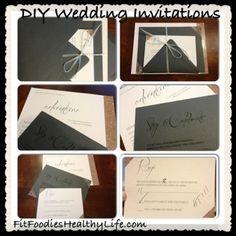DIY Wedding Invitations   Fit Foodies. Healthy Life.