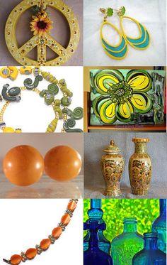 """Summer Essentials"" by Megan of 1LittleTreasureShop --Pinned with TreasuryPin.com"