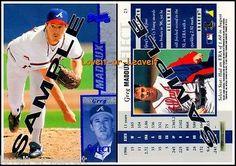 PINNACLE SELECT 1997 GREG MADDUX MLB ATLANTA BRAVES RARE SAMPLE PROMO CARD ##23