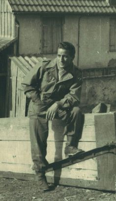 Singer Tony Bennett,  Seventh Army, 63rd Infantry Division of the 255th Regiment, G Company