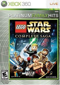 Lego Star Wars: The Complete Saga Star Wars Film, Star Wars Xbox, Latest Video Games, Video Games Xbox, Xbox 360 Games, Lego Games, Saga, Lego Universe, Space Battles