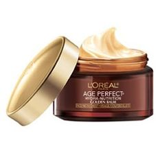 Discover Age Perfect Hydra-Nutrition Golden Balm Face, Neck & Chest Anti-Aging Skincare Moisturizer by L'Oréal Paris. Firms & densifies for softer, suppler skin Print Coupons, Printable Coupons, Best Neck Cream, Palette, L'oréal Paris, Skin Cream, Loreal, The Balm, Moisturizer