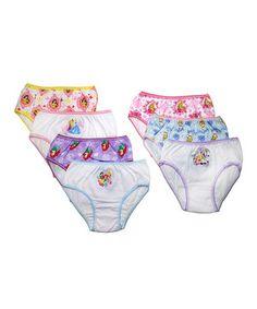 Look at this #zulilyfind! Disney Princess Underwear Set - Toddlers & Girls by Disney #zulilyfinds