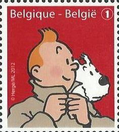 belgian stamps This is Belgium : Humour. - Hergé - Kuifje