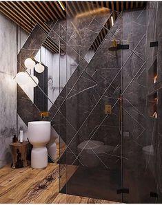 Dernières tendances en décoration de salle de bain Notre mode de vie change rapidement, nos besoins et nos maisons évoluent rapidement dans cette direction.Il est devenu presque impossible de saisir... salle de bain Bathroom Crafts, Bathroom Spa, Bathroom Toilets, Bathroom Humor, Bathroom Layout, Modern Bathroom, Washroom, Luxury Toilet, Bathroom Cladding