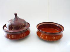 Ditlev, DK c.1960 Sugar Bowl, Bowl Set, Pottery, Desserts, Food, Finland, Norway, Ceramica, Tailgate Desserts