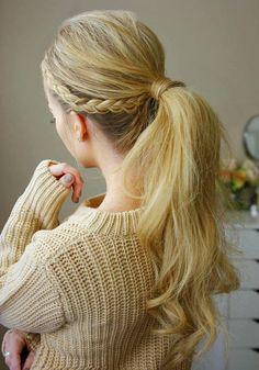 Long Wedding & Prom Hairstyles via Missysueblog / http://www.deerpearlflowers.com/wedding-prom-hairstyles-for-long-hair/5/