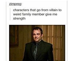 Oh, Crowley.