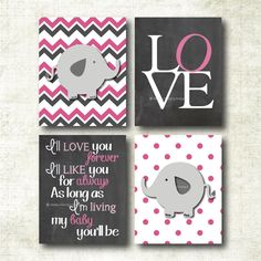 Obsessed with these!! So need them for baby girls nursery!